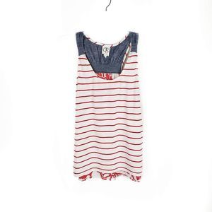 Anthropologie One September undergrowth tank XS